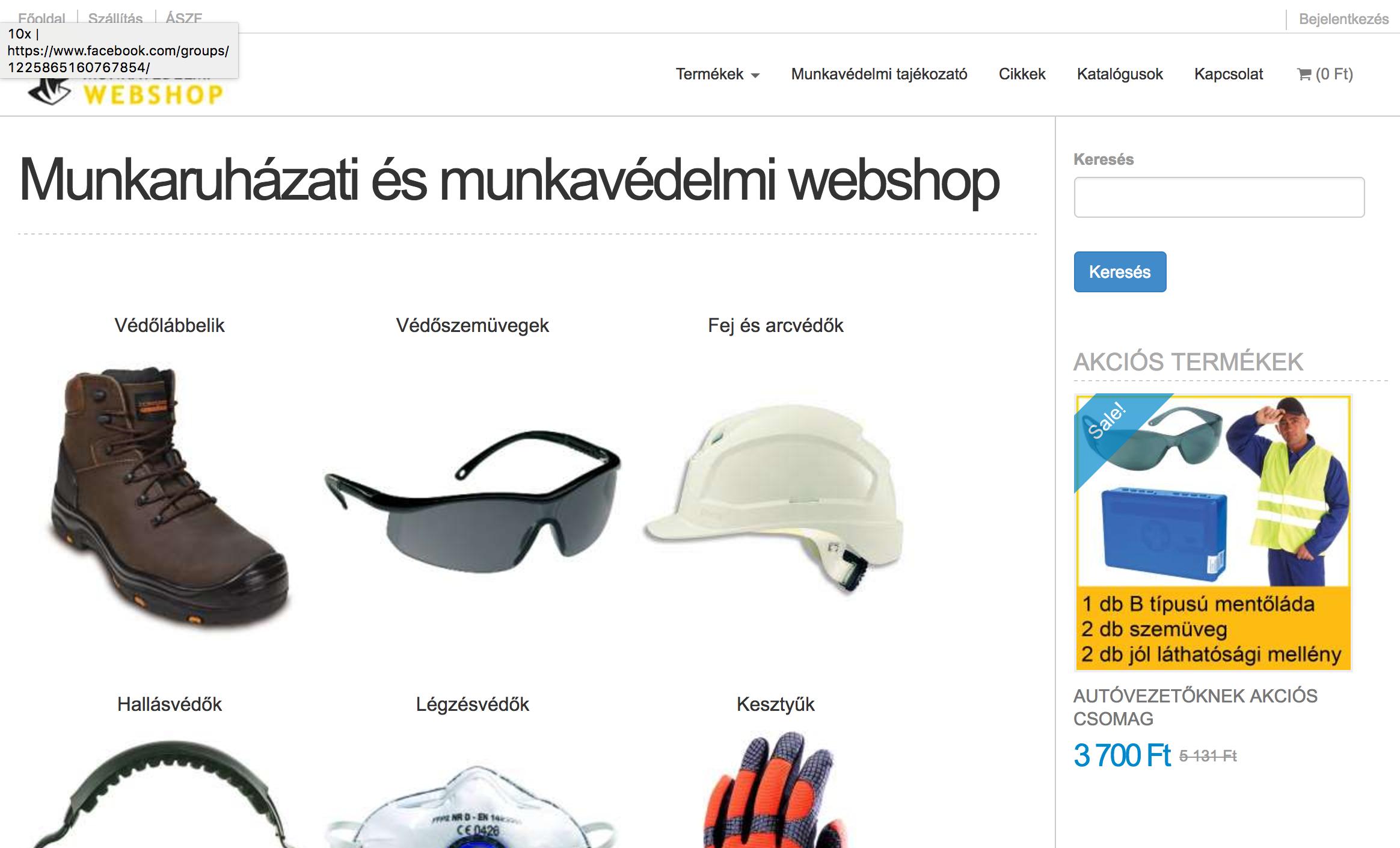 munkaruha webaruhaz